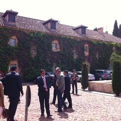 Photo taken at Hotel Parador de Almagro by Reyes E. on 4/28/2011