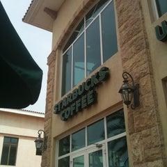 Photo taken at Starbucks   ستاربكس by Nabil B. on 4/8/2011