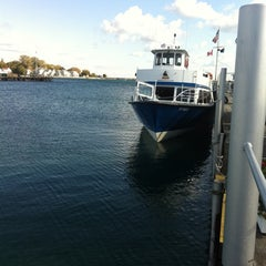 Photo taken at Shepler's Mackinac Island Ferry by JSM on 10/16/2011