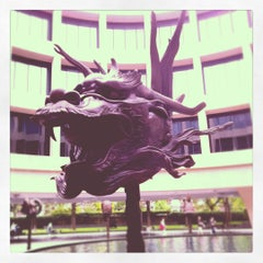 Photo taken at Hirshhorn Museum and Sculpture Garden by John S. on 7/22/2012