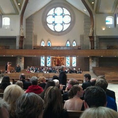 Photo taken at St Anne's Catholic Church by Tom L. on 10/22/2011