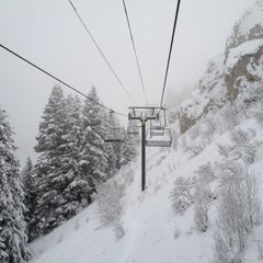 Photo taken at River Run Chair #1 by Rob P. on 1/20/2012