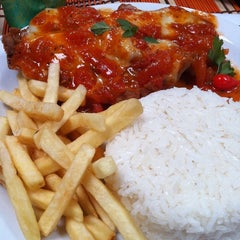 Photo taken at Baiah Brasa Restaurante by Erly O. on 9/16/2011