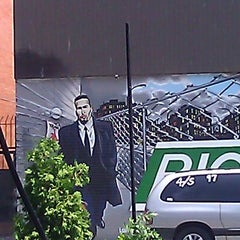 Photo taken at Big Pun Memorial Mural by Luis L. on 6/15/2011