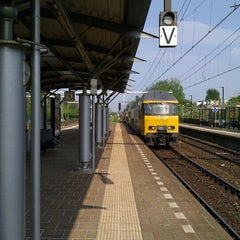 Photo taken at Station Utrecht Overvecht by Clarence T. on 4/21/2011