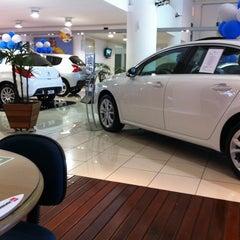 Photo taken at Peugeot BORDEAUX by Michel on 9/4/2012