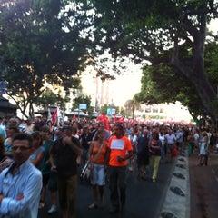 Photo taken at Alameda Principal by Norberto J. on 7/19/2012