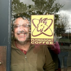 Photo taken at Flying Goat Coffee by Victoria A. on 4/11/2012