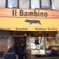 Photo taken at Il Bambino by Mike M. on 3/11/2012