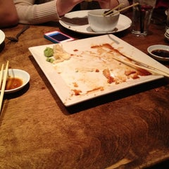 Photo taken at Hapa Grill by B G. on 12/21/2011