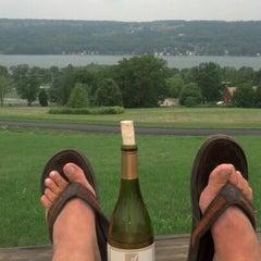 Photo taken at Keuka Spring Vineyards by Greg S. on 8/5/2012