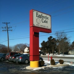 Photo taken at Egg'lectic Cafe by Christina B. on 2/11/2012