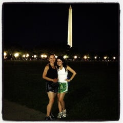 Photo taken at The Ellipse — President's Park South by Morgan B. on 7/26/2012