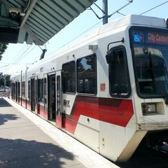 Photo taken at TriMet Gateway/NE 99th Ave MAX Station by Weston R. on 8/25/2012