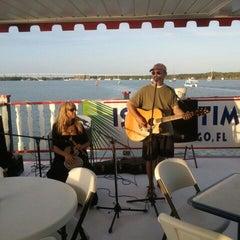 Photo taken at Island Time Cruises Paddlewheel Boat by David H. on 3/10/2012