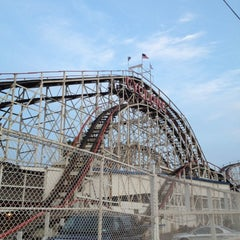 Photo taken at The Cyclone by David S. on 8/14/2012