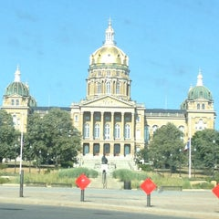 Photo taken at Iowa State Capitol Building by Catherine H. on 7/22/2012