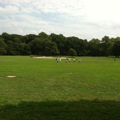 Photo taken at Prospect Park Ballfield #4 by Dan V. on 8/5/2012