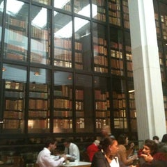 Photo taken at British Library Cafe by Jamal A. on 6/25/2012