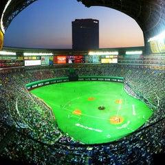 Photo taken at 福岡ヤフオク!ドーム (Fukuoka Yafuoku! Dome) by Takashi O. on 5/23/2012