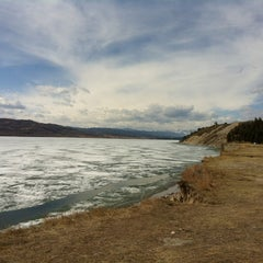 Photo taken at Ghost Reservoir by alex d. on 4/24/2012