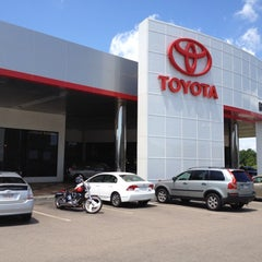 Photo taken at Boch Toyota by Jamie F. on 6/8/2012