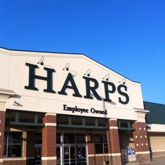 Photo taken at Harps Food Store by Frank M. on 3/5/2012