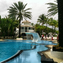 Photo taken at The Raleigh Miami Beach by Victor A. on 7/22/2012