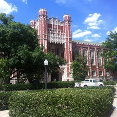 Photo taken at Bizzell Memorial Library by Ally N. on 5/10/2012