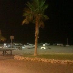 Photo taken at Playa Rincón de la Victoria by Verónica G. on 8/7/2012