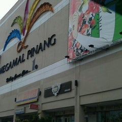 Photo taken at Megamall Pinang / Pacific Hyperstore by Ude N. on 10/29/2011