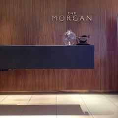 Photo taken at The Morgan by Mark F. on 1/2/2012