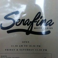 Photo taken at Serafina White Plains by Sophia G. on 9/11/2011