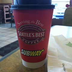 Photo taken at Subway by Cindy G. on 1/17/2012
