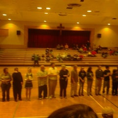 Photo taken at Columbus High School by Melanie Beastt E. on 2/8/2012