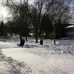 Photo taken at Snowpocalypse 2011 - Milwaukee by Kyle S. on 2/2/2011