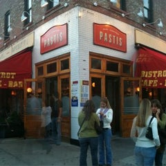 Photo taken at Pastis by The Corcoran Group on 8/3/2011
