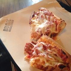 Photo taken at Bunk Sandwiches by Gene X. on 2/21/2012