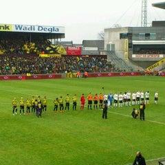 Photo taken at Herman Vanderpoortenstadion | Het Lisp by Edgar M. on 4/9/2012