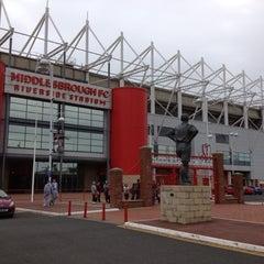 Photo taken at Riverside Stadium by Mark B. on 6/14/2012