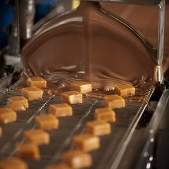 Photo taken at Whetstone Chocolate Factory by Denise Y. on 7/7/2012