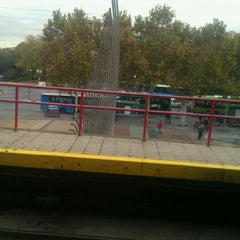 Photo taken at Metro Aluche by Lore A. on 11/21/2011