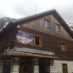 Photo taken at хижа Вихрен (Vihren hut) by St John Hill Bansko on 6/16/2012