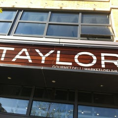 Photo taken at Taylor Gourmet by Adreinne W. on 3/26/2012