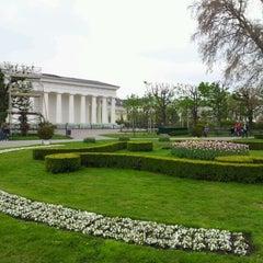 Photo taken at Volksgarten by Eaglepowder on 4/14/2012