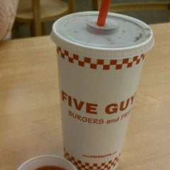 Photo taken at Five Guys by Jose A. on 1/3/2012