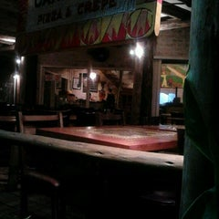 Photo taken at Candeeiro Pizza & Crepe by Fabricio M. on 1/26/2012