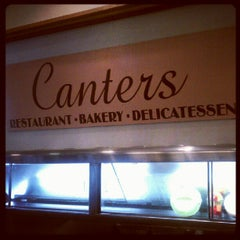 Photo taken at Canter's Delicatessen by Jennifer S. on 8/31/2012