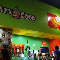 Photo taken at Crazy Good Yogurt by Matt M. on 7/22/2011