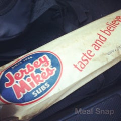 Photo taken at Jersey Mike's Subs by Lito D. on 11/16/2011